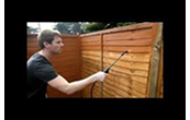 Protect & colour your fence in 3 minutes