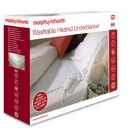 Morphy Richards  Single Washable Heated Underblanket