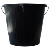 Strata  3 Gallon Bucket - Black