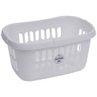 Casa  Hipster Laundry Basket - Ice White