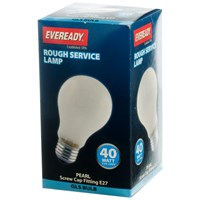 Eveready  Rough Service GLS Light Bulb - 40W ES