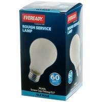 Eveready  Rough Service GLS Light Bulb - 60W ES