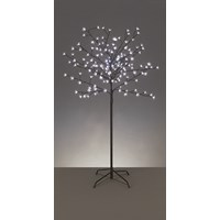 Premier Decorations  LED Cherry Blossom Tree Ice White - 5ft