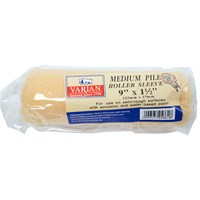 Varian  Medium Pile Paint Roller Sleeve - 9in