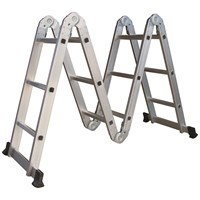ProPlus  4 Section Hinged Aluminium Ladder