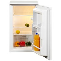 NordMende  White Freestanding Under Counter Fridge - 82 Litre