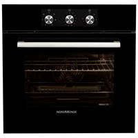 NordMende  Black Single Fan Oven & Grill - SO202BL