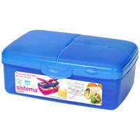 Sistema  Slimline Quaddie Lunch Box