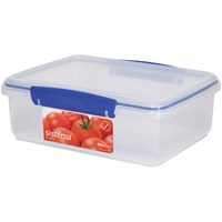 Sistema Klip It Rectangular Food Storage Box Clear - 2 Litre
