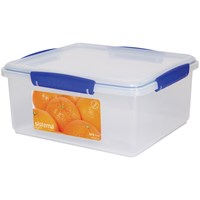 Sistema Klip It Rectangular Food Storage Box Clear - 5 Litre